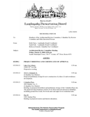 LPB agenda