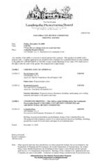 CCRC agenda